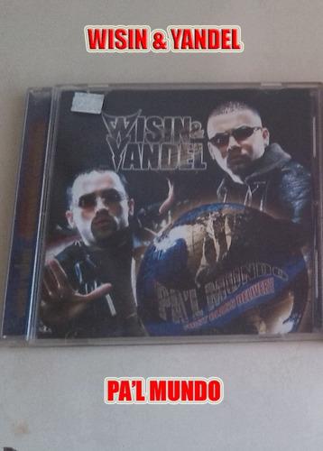 Cd Wisin & Yandel Original