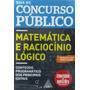Concurso Publico Matemática E Raciocínio Lógico