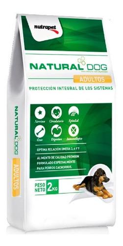 Natural Dog Cachorro 14kg+ Obsequio + Envio Sin Costo