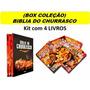 Bíblia Do Churrasco Box 4 Livros Lacrados Picanha Costela