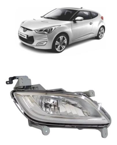 Farol De Milha Hyundai Veloster Lado Direito Com Lampada