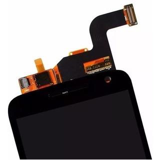 Modulo Display Y Touch Motorola Moto G4 Play Xt1601 Negro