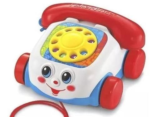 Teléfono De Arrastrar Chatter Telephone Fisher Price 20 Vrds