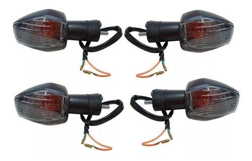 Pisca Seta Dianteiro/traseiro Cristal Cbr 600 Hornet Kit Com