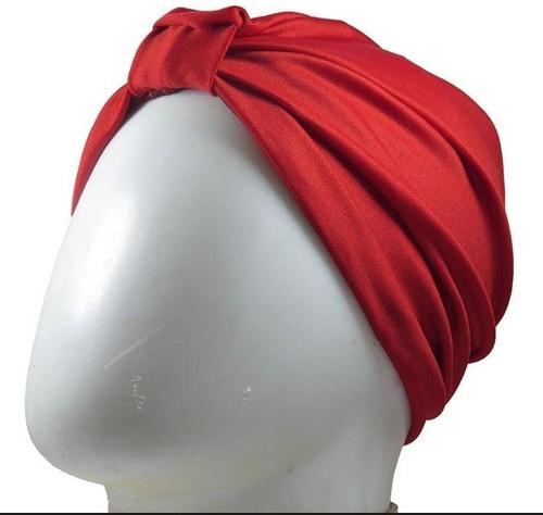Turbante Touca Gorro Ideal Durante Quimioterapia Câncer 3 Un