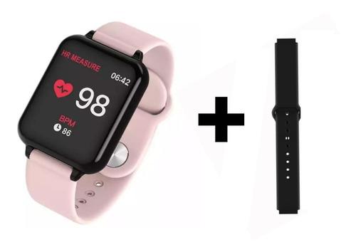 Relógio Feminino Smart Watch + Duas Pulseiras Rose Ofertaa