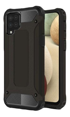 Protector Funda Samsung A12 Heavy Us Black 69 Cases