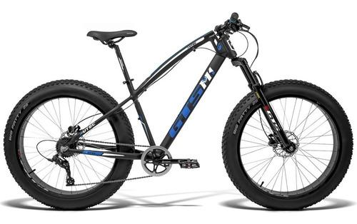 Bicicleta Gts Fat Aro 26 7v Freio Hidráulico I-vtec Fat
