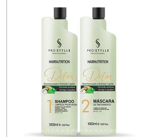Detox Capilar /hair Nutrition/reconstrutor/selagem/ Premium