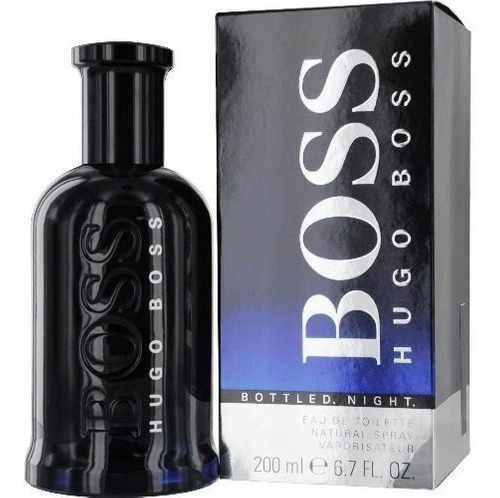Boss Bottle  Night Hugo Boss  200ml Edt  Original