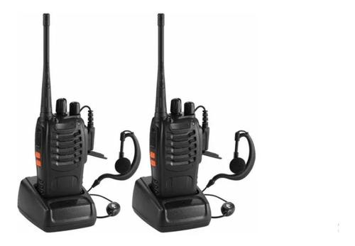 Pack 2 Radios Walkie Talkie Baofeng 888s + Garantia!