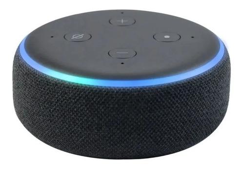 Alexa Echo Dot 3 Caixa De Som Amazon C/ Assistente Original