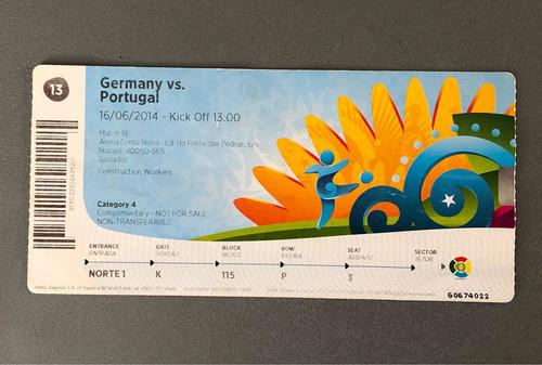 Ingressos Da Copa Do Mundo 2014 Germany X Portugal-fretgrats