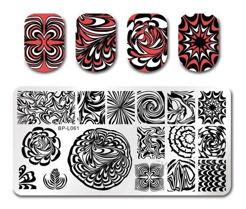 Placas Para Stamping Originales Born Pretty Diseños Varios