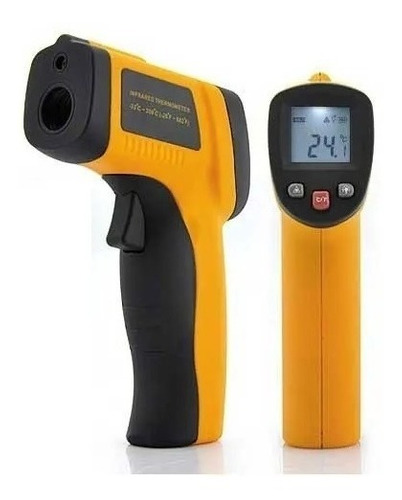 Termometro Laser Digital Industrial Temperatura -50 A 380°c