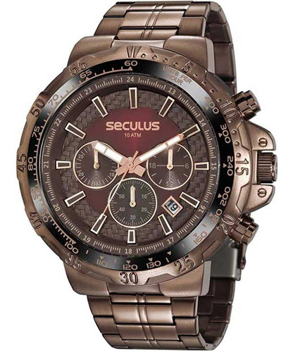 Relógio Masculino Seculus 20780gpsvma2