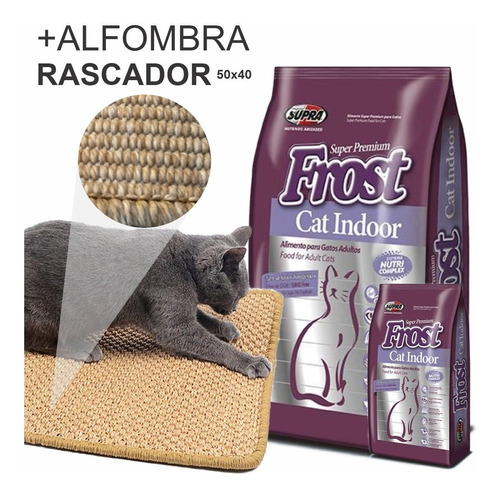 Ración Frost Gatos Cat Indoor 8,5k + Regalos, Envío Gratis*