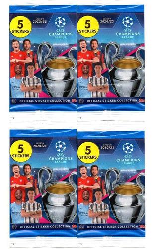 Kit 100 Figurinhas Do Album Champions League 2021 (20 Env)