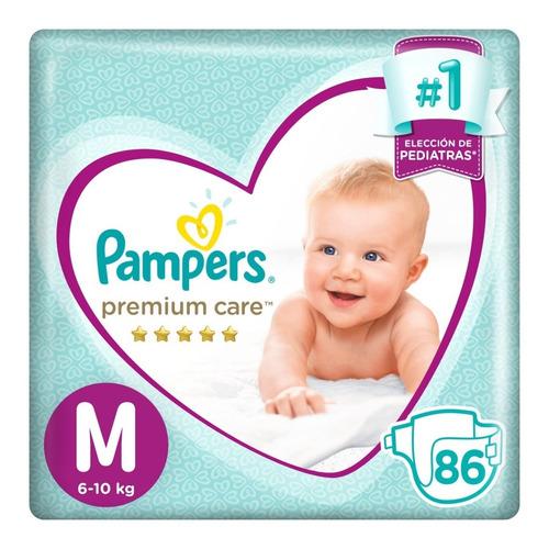 Pampers Premium Care Pack Mensual Todos Los Talles
