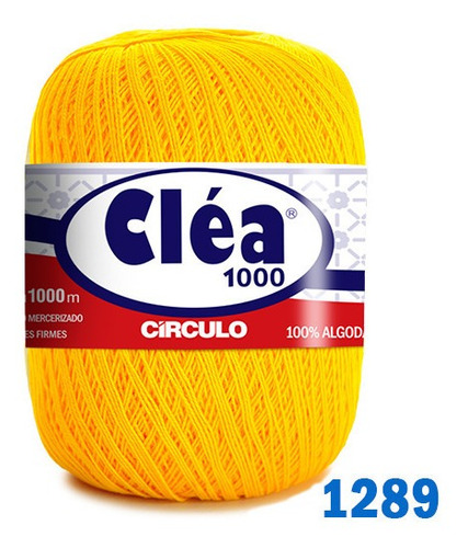 Linha Cléa 1000m Círculo Crochê