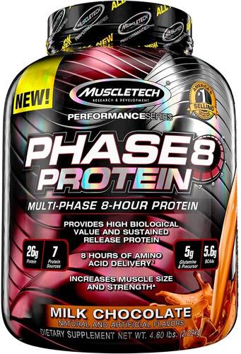 Enciclopedia  De Proteina Muscletec Phase 8  50 Serv