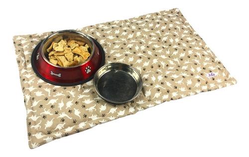 Tapete Para Cachorro / Gato - 100% Algodão - 49cm X 38cm