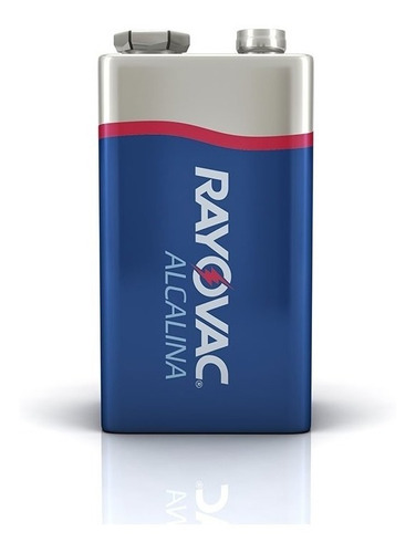 Bateria Alcalina Rayovac 9v Com 2 Unidades