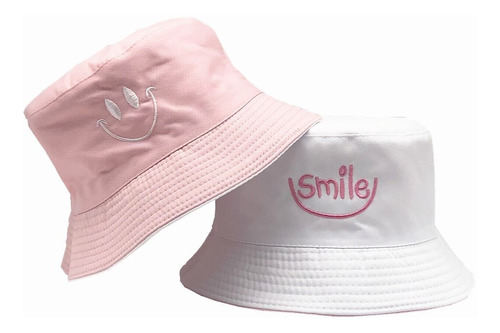 Chapéu Bucket Dupla Face Smile - Hat 2 Lados