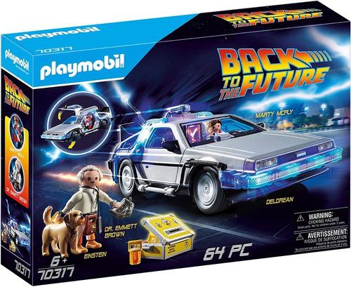 Playmobil Volver Al Futuro Back To The Future Nuevo En Stock