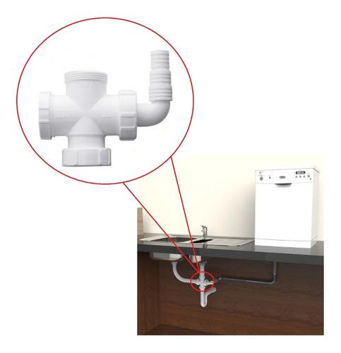 Conexão P/ Máquina Lavar Louça E Roupa 4 Saídas - Blukit