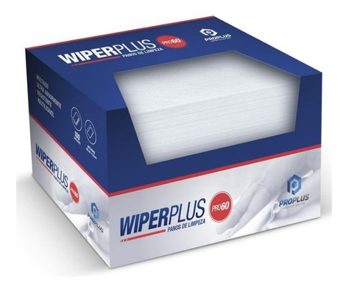 Wiper Plus Pano De Limpeza Descartável