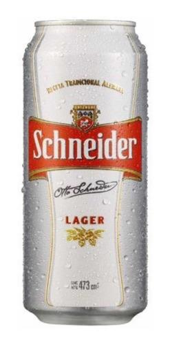 Cerveza Schneider Lata X 473cc. X 30packs.