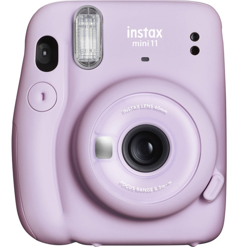 Câmera Fujifilm Instax Mini 11 Lilás + 10 Fotos Monochrome