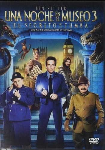Una Noche En El Museo 3, El Secreto De La Tumba. En Dvd