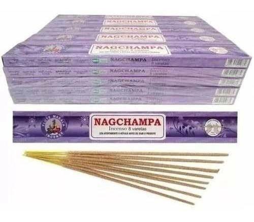 Incenso Flute Massala Nag Champa 25 Caixas De 8 Varetas