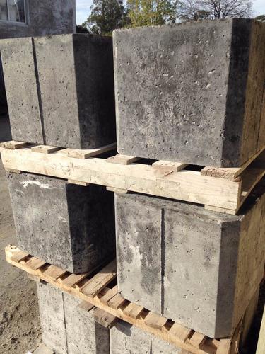 Bases Para Contenedor 45x45x40 Cm - 6 Uni/ Contenedor 12 Mts