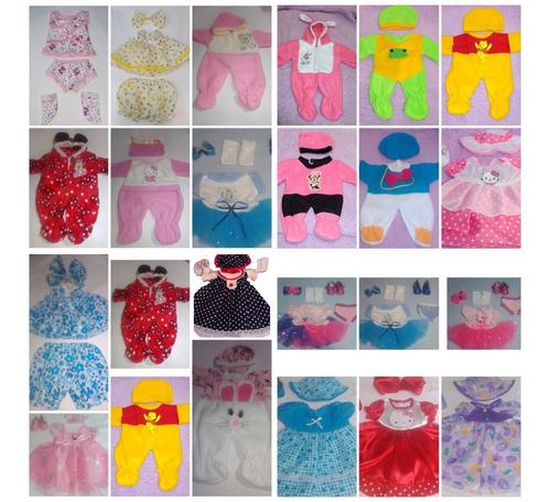 12 Conjuntos Para Bebé De 35 Cm Nenuco Little Mommy Etc Ropa