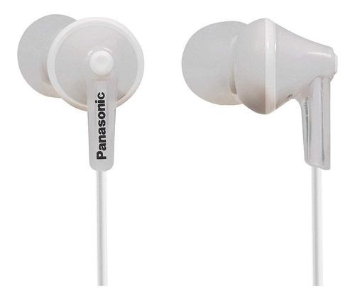 Audífonos In-ear Panasonic Ergofit Rp-hje125 Blanco