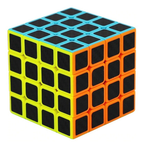 Cubo Magico Profissional 4x4x4 Carbon