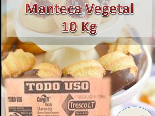 Manteca Vegetal Marca Cargil De 10 Kilos