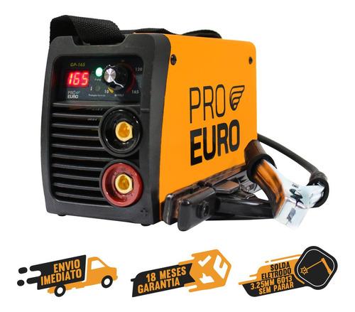 Solda Inversora Portatil Gp-165 A Pró Euro Bivolt 110v/220v