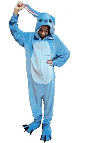 Kit Lilo Stitch Disney Pijama Fantasia + Pantufa Garra