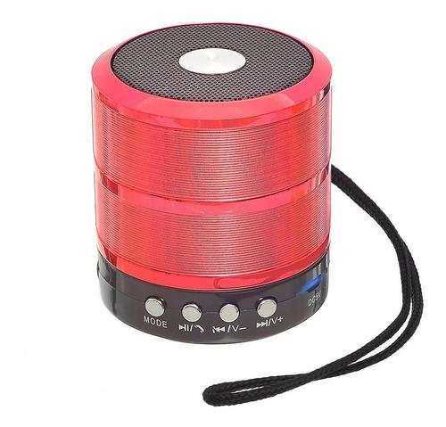 Mini Caixa Caixinha De Som Portátil Bluetooth Mp3 Fm Sd Usb