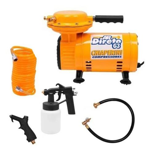 Compressor Ar Direto Bivolt 40lbs G3 Chiaperini Kit Completo