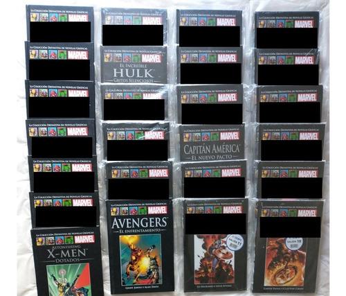 Libros Colección Definitiva Novelas Gráficas De Marvel