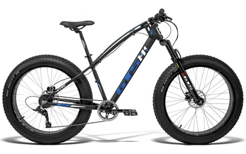 Bicicleta Gts Fat Aro 26 7v Freio Hidráulico I-vtec Fat Cl