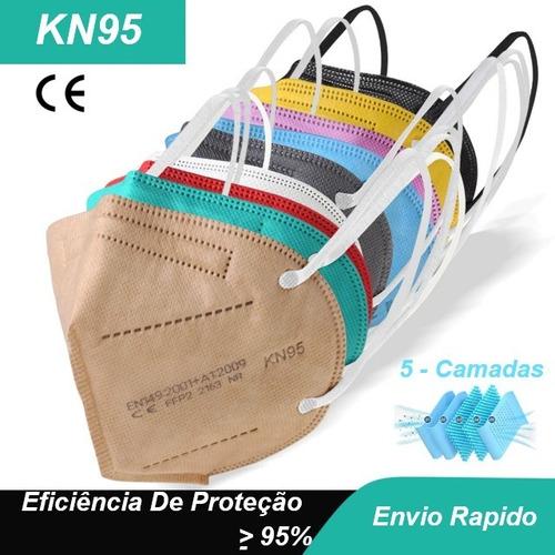 Máscaras Kn95 Proteção Anvisa  Meltblown Ffp2 Reutilizável