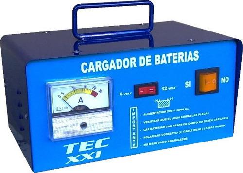 Cargador Baterias 20amp. 6/12volts Ind.arg.moto Auto Etc