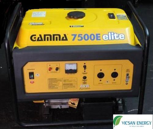 Alquiler De Grupo Electrógeno 7kw Gamma 7500e Generador