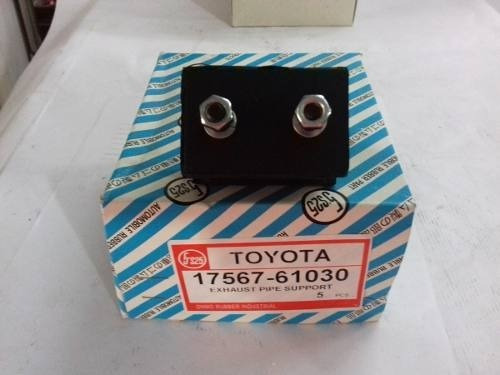 Goma Soporte Tubo Escape Toyota 2f 3f 4.5 4500